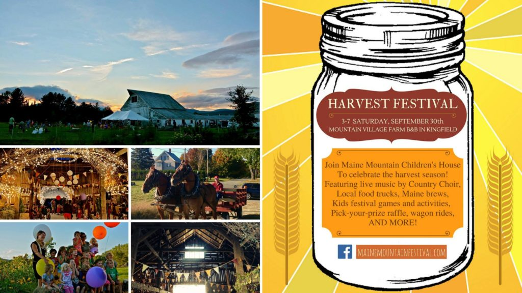 Food Truck at the MMCH Harvest Festival @ Mountain Village Farm | Kingfield | Maine | United States
